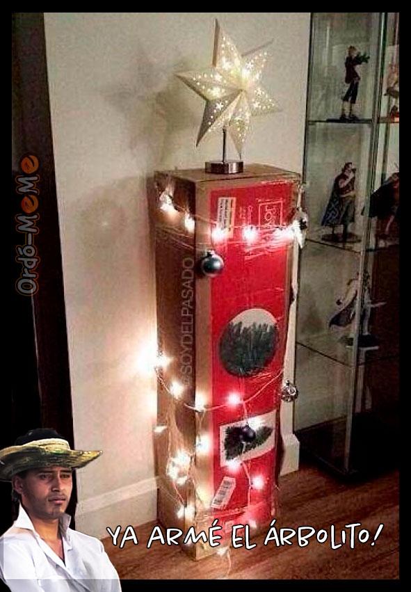 Meme árbol de navidad