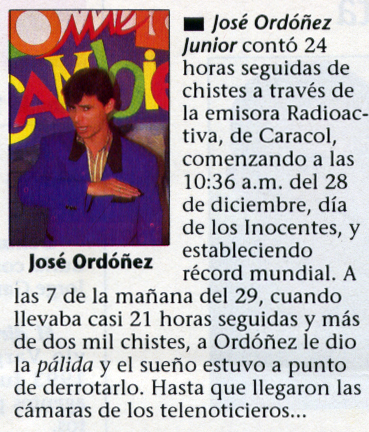 Revista Cromos record 24 horas