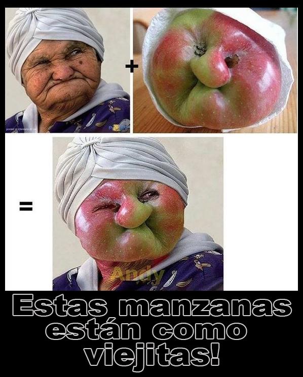 Meme Manzanas viejitas
