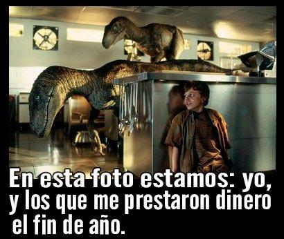 Meme dinosaurios deudores