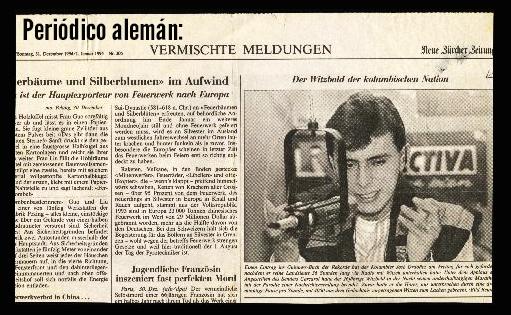 Periodico aleman record 36 horas