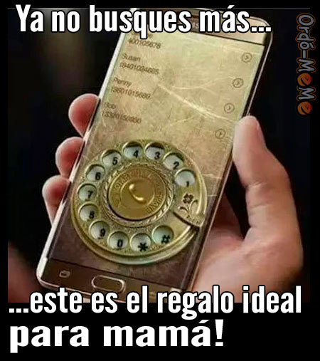 MEM regalo ideal para mama celular