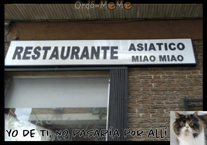 Meme restaurante chino