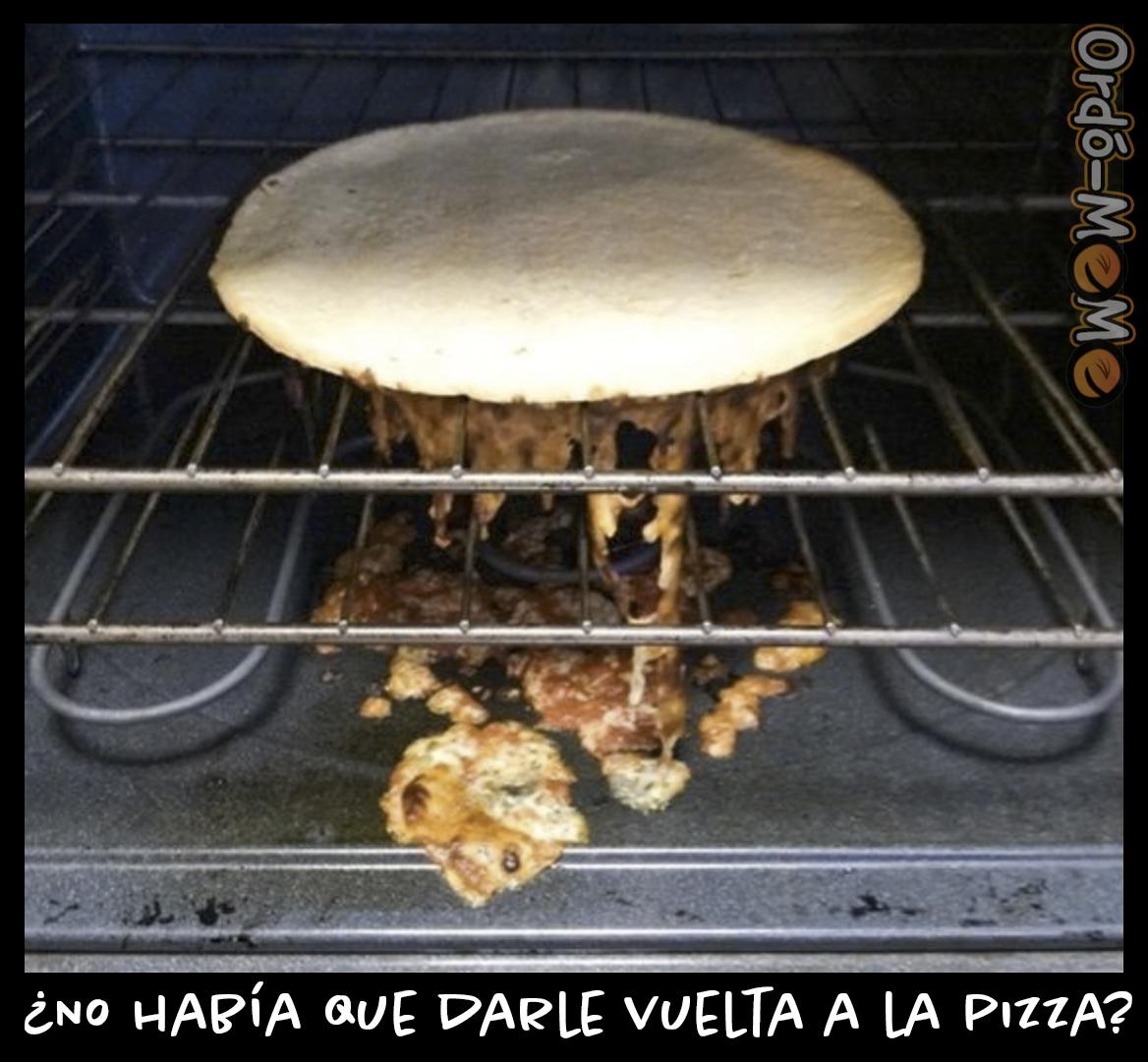 Meme vuelta a la pizza