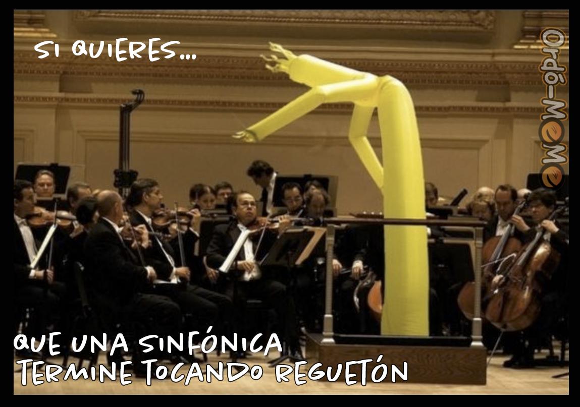 Meme sinfonica regueton