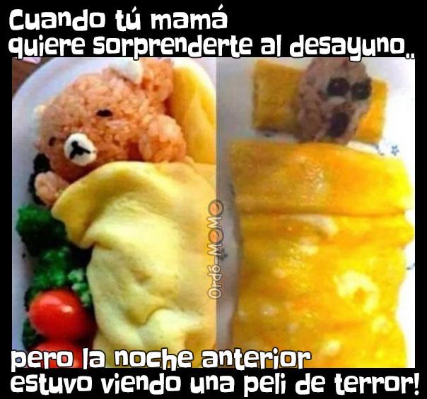 Meme de desayuno