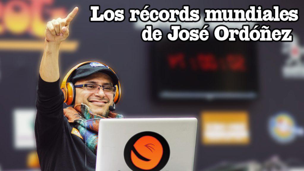 Miniatura récords mundiales de José Ordóñez
