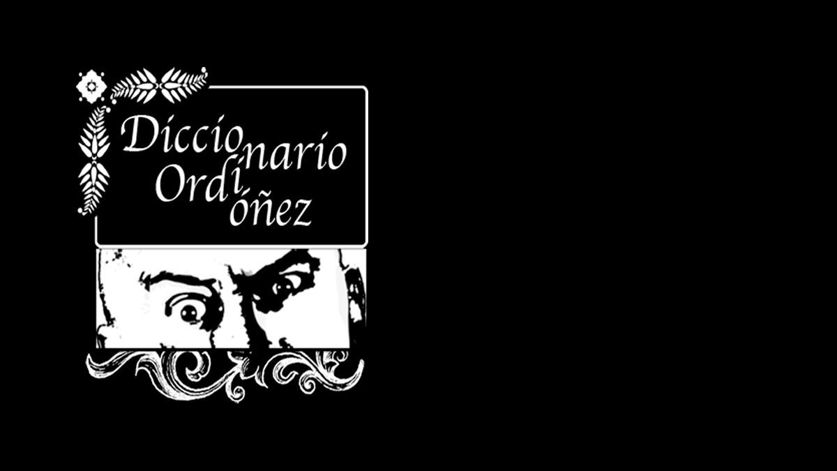 logo diccionario ordinario ordoñez
