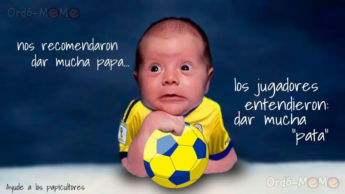 Meme Selección de fútbol